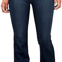 Vibrant Women's Juniors Bell Bottom High Waist Fitted Denim Jeans   Amazon (US)