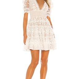 Bronx and Banco Megan Mini Dress in Blanc from Revolve.com | Revolve Clothing (Global)