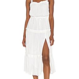 PAIGE Amity Dress in White from Revolve.com | Revolve Clothing (Global)