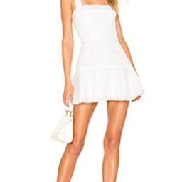 Amanda Uprichard Annalise Dress in White from Revolve.com | Revolve Clothing (Global)