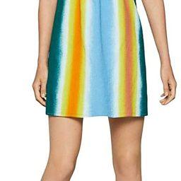 BCBGeneration Women's Faded Stripe A-line Dress | Amazon (US)