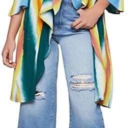 BCBGeneration Women's Faded Stripe Cover-up Jacket | Amazon (US)