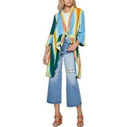 BCBGeneration Womens Cotton Hi-Low Cover-Up Cardigan Top Jacket BHFO 6792 | eBay US