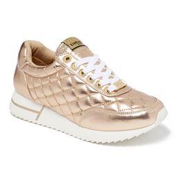 bebe Sport Women's Sneakers Rose - Rose Gold Barkley Sneaker - Women   Zulily