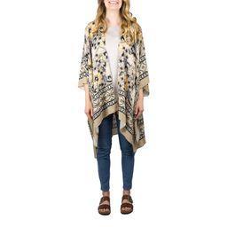Time and Tru Ladies Floral Print Kimono Ruana Size Large/X-Large | Walmart (US)