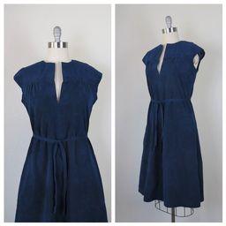 Vintage 1970s ultrasuede dress, jumper, Vera Maxwell, medium   Etsy (US)