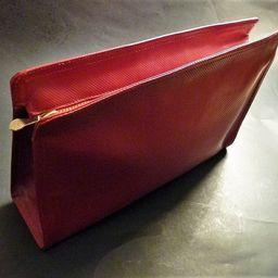 Bottega Veneta red leather vintage clutch bag   Etsy (US)