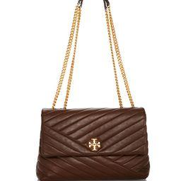 Kira Chevron Leather Shoulder Bag | Bloomingdale's (US)