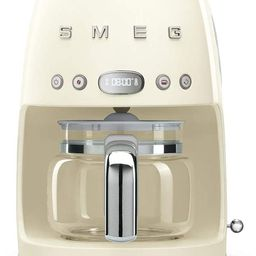 Smeg Retro Style Coffee Maker Machine, 17.3 x 12.8 x 11.3, Cream | Amazon (US)