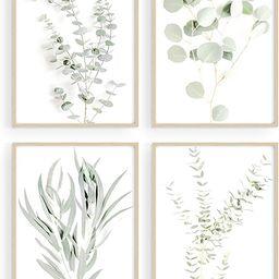 Haus and Hues Botanical Plant Wall Art Prints - Set of 4 Plant Wall Decor Prints Floral Kitchen F...   Amazon (US)