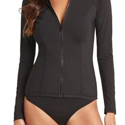 Long Sleeve Rashguard Swimsuit | Nordstrom | Nordstrom