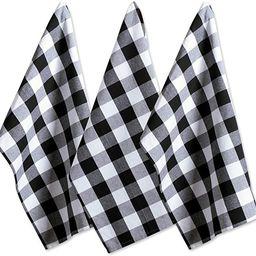 "DII Cotton Buffalo Check Plaid Dish Towels, (20x30"", Set of 3) Monogrammable Oversized Kitchen To...   Amazon (US)"