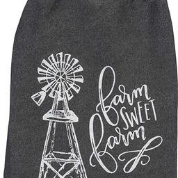 "Primitives by Kathy 38912 Farmhouse Dish Towel, 28"" Square, Farm Sweet Farm   Amazon (US)"