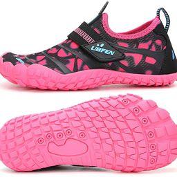 UBFEN Water Shoes for Kids Boys Girls Aqua Socks Barefoot Beach Sports Swim Pool Quick Dry Lightw... | Amazon (US)