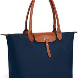 Gywon Women's Nylon Tote Top Handle Handbag Shoulder Bag Waterproof Travel Beach Bags with Wallet...   Amazon (US)