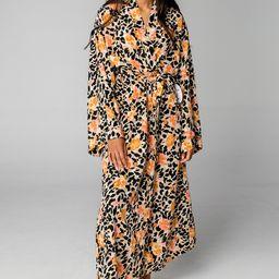 Romee Long Robe - Poppy Field | BuddyLove