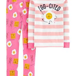 2-Piece Breakfast Snug Fit Cotton PJs | Carter's