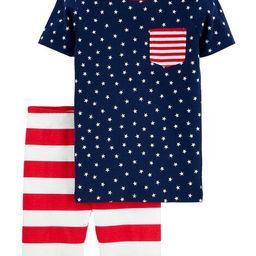 2-Piece 4th Of July Snug Fit Cotton PJs | Carter's