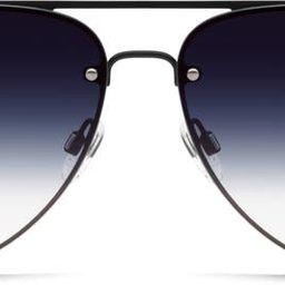 High Key Mini 53mm Gradient Rimless Aviator Sunglasses | Nordstrom