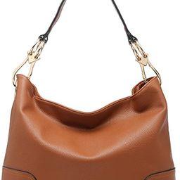 Dasein Women Hobo Bags Shoulder Handbags Hobo Purses Big Hook Hardware and Wide Strap | Amazon (US)