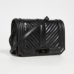 Chevron Quilted Small Love Crossbody Bag | Shopbop