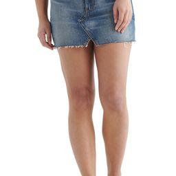 High Waist Cutoff Denim Skirt | Nordstrom | Nordstrom