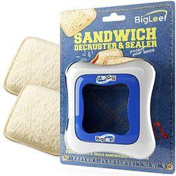 Sandwich Cutter, Sealer and Decruster for Kids - Remove Bread Crust, Make DIY Pocket Sandwiches -... | Amazon (US)