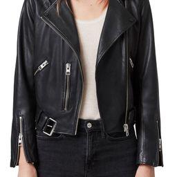 Balfern Leather Biker Jacket | Nordstrom | Nordstrom