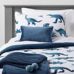 Dinosaur Comforter Set Watercolor Blue - Pillowfort™ | Target