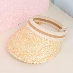 Straw Visor Hat | SHEIN