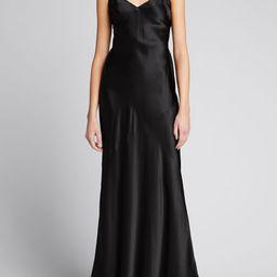 L'Agence Serita Silk Maxi Dress | Bergdorf Goodman