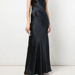 bias-cut silk gown | Farfetch (US)