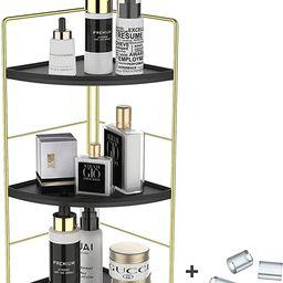 JANUS LiANG 3-Tier Spice Rack Corner Storage Shelf Makeup Organizer Stackable Cosmetic Holder Sta... | Amazon (US)