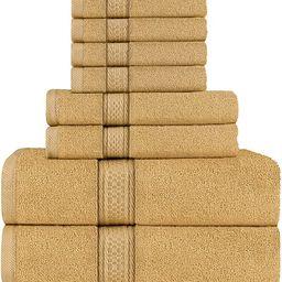 Utopia Towels Towel Set, 2 Bath Towels, 2 Hand Towels, and 4 Washcloths, 600 GSM 100% Premium Rin... | Amazon (US)