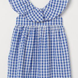 Flounce-detail Dress | H&M (US)