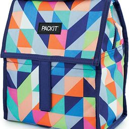 PackIt Freezable Lunch Bag with Zip Closure, Paradise Breeze | Amazon (US)