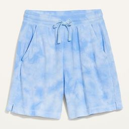 Extra High-Waisted Vintage Tie-Dyed Sweat Shorts for Women -- 5-inch inseam | Old Navy (US)