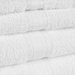 Mainstays Basic Solid 18-Piece Bath Set, White | Walmart (US)