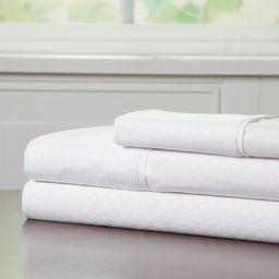 Brushed Microfiber Sheets Set- 3 Piece Bed Linens by Somerset Home (White, Twin) | Walmart (US)