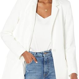 Amazon Brand - Women's Blake Long Blazer by The Drop | Amazon (UK)
