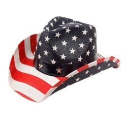 Angela & William American Flag Cowboy Hat   Macys (US)