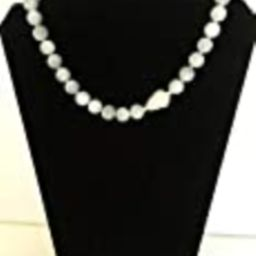 Light Blue, Baby Blue Choker with White Pearl Focal. One of a Kind | Amazon (US)