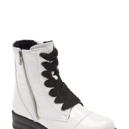 Women's Bos. & Co. Paulie Waterproof Lace-Up Bootie, Size 8-8.5US - White | Nordstrom
