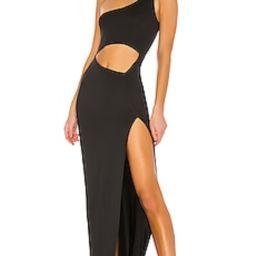 superdown Erla Cutout Maxi Dress in Black from Revolve.com | Revolve Clothing (Global)
