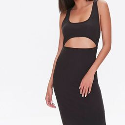 Cutout Self-Tie Bodycon Dress | Forever 21 (US)