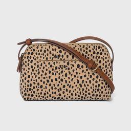 Leopard Print Zip Closure Crossbody Bag - Universal Thread™   Target