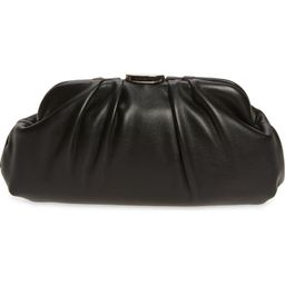 Soft Faux Leather Clutch   Nordstrom Canada