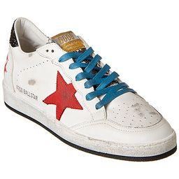 Golden Goose Ball Star Leather Sneaker | Gilt