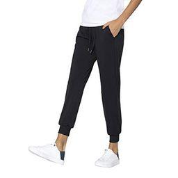AJISAI Women?s Joggers Pants Drawstring Running Sweatpants with Pockets Lounge Wear Black S   Walmart (US)