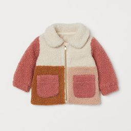 Faux Shearling Jacket | H&M (US)
